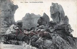 Calanches De Piana - CORSE -  Collection  J. Moretti N°1301 - Dos Vierge  - 2 Scans - Autres Communes