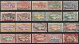 Guadeloupe. 1928. Entre N° 99 Et 122. Oblit. Et Neuf * - Unclassified