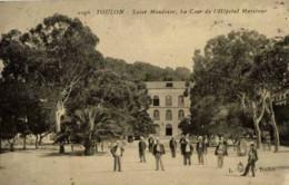 83-SAINT-MANDRIER-La Cour De L´Hôpital   Maritime--animée - Saint-Mandrier-sur-Mer