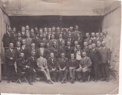 Foto 40jähr. Stiftungsfest 1921 - Schiesschule (3902) - Waffenschiessen