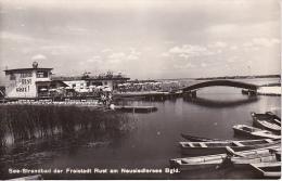 AK See-Strandbad Der Freistadt Rust Am Neusiedlersee - 1961 (3912) - Neusiedlerseeorte