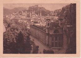 AK Salzburg Von Der Humboldt-Terrasse - 1947 (3920) - Salzburg Stadt