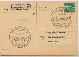 TELEMANN FESTIVAL Magdeburg 1984 On East German Postal Card P84 - Musique