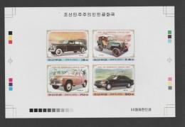 O) 2003 KOREA, OLD CARS, PROOF, SET MNH - Korea (...-1945)