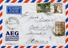 ARGENTINA 1959 - Schöne 3 Fach Frankierung Auf LP-Brief Nach Berlin - Argentinien