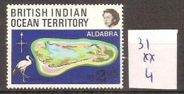 Océan Indien 31 ** Côte 4 € - British Indian Ocean Territory (BIOT)