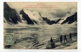 CP , SPORTS , ALPINISME , Les Alpes , Massif Du Pelvoux, La Barre Des Ecrins, Plateau Du Glacier Blanc - Mountaineering, Alpinism