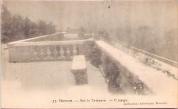 MEUDON - Sur La Terrasse - Il Neige - Meudon