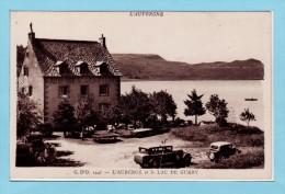 63 LE MONT DORE - L´Auberge Et Le Lac De GUERY + Animation + Anciennes Autos - Frankreich