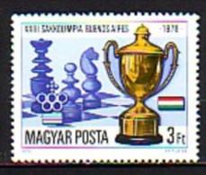UNGARN / HONGRIE - 1979 - 23 Olimpiades D'echecs - 1v** - Neufs
