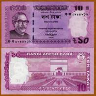 Bangladesh 10 Taka 2012 Pick 54 UNC - Bangladesh