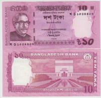 Bangladesh 10 Taka 2013 Pick 54 UNC - Bangladesh