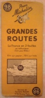 Carte MICHELIN 98 - Grandes Routes - Other Collections