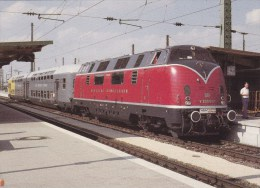 DEUTSCHE BUNDESBAHN  DOPPELSTOCKWAGEN INGOLSTADT - Eisenbahnen