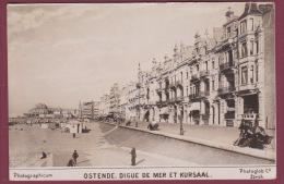 BELGIQUE - 050514 - OSTENDE Digue De Mer Et Kursaal - Chocolat TOBLER - Oostende