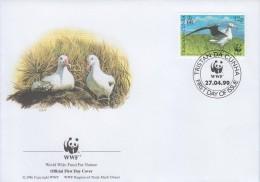 WWF Stamp Set FDC: Tristan Da Cunha 1999 Wandering Albatross Bird WWF136304 - Unclassified
