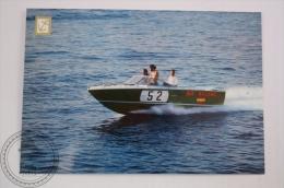 Boat Postcard - Speed Boat Sea Ray, Spain - Mercury 165 HP Engine - Bateaux