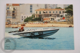 Boat Postcard - Speed Boat Dry Martini, Italy - 2 Aeromarine Engines 600 HP - Otros