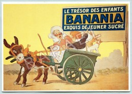 Affiche Sur Carte Postale - Banania (G. Meunier) (3) - Reclame