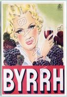 Affiche Sur Carte Postale - Byrrh (Auger 1930) - Reclame