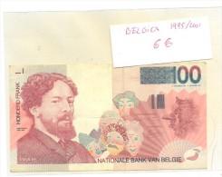BILLETE BELGICA 100  HONDERD FRAND - Sin Clasificación