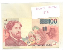 BILLETE BELGICA 100  HONDERD FRAND - Bélgica