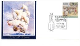 (PH 484) Australia - 1988 - Melbourne Welcomed The 1st Fleet (3 Covers) - Australia