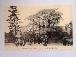 MARUYAMA PARK KIOTO NON VIAGGIATA ANIMATA G - Kyoto