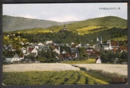 P0070 - Czechoslovakia (19xx) Frydlant V Cechach - Friedland In Böhmen (Sudetenland): A View Of The Town And Castle - Tchéquie
