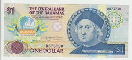 Bagamas 1 Dollars 1974(1992) Pick 50 UNC - Bahamas