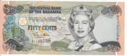 Bagamas 1/2 Dollars 2000 Pick 68 UNC - Bahamas