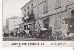 AIX EN PROVENCE GARAGE CENTRAL POMAYROL ALBERT (BEAU PLAN AVEC AUTOS GAREES) - Aix En Provence