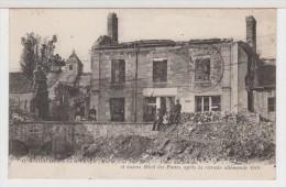 51 - JONCHERY- SUR- VESLE - Place Du Marché Et Ancien Hôtel Des Postes Après La Retraite Allemande 1918 - Jonchery-sur-Vesle