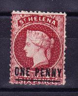 St Helena 1871 S.G. # 8 * Ohne Gummit Perf. 12 1/2 - Sainte-Hélène