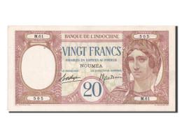 Nouvelle Calédonie, Nouméa, 20 Francs Type 1926-29 - Nouvelle-Calédonie 1873-1985