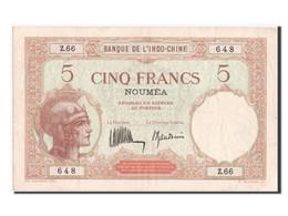 Nouvelle Calédonie, Nouméa, 5 Francs Type 1926-29 - Nouméa (New Caledonia 1873-1985)
