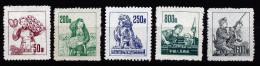 A2708) PR China Mi.202-206 Ungebraucht Unused - 1949 - ... Repubblica Popolare