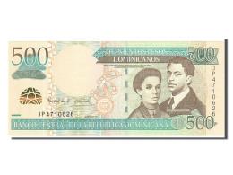 République Dominicaine, 500 Pesos Dominicanos Type De Henriquez Et Quziurena - Dominicaine