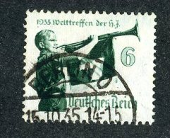 6845  Reich 1935~ Michel #584x  Used  Scott #463  Offers Welcome! - Used Stamps