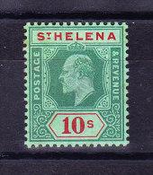 St Helena 1908 S.G. # 71 ** Etwas Rostfleckig Im Gummi - Sainte-Hélène