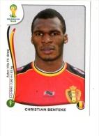 FIGURINE PANINI NUOVE - MINT STICKERS BRASIL WORLD CUP 2014 - BELGIUM - CHRISTIAN BENTEKE - N.582 - Panini