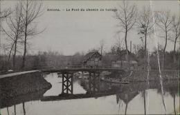 80 AMIENS / Le Pont Du Chemin De Hallage / CARTE GLACEE - Amiens