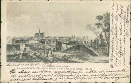 80 AMIENS / Vue D'une Partie De La Ville Prise Du Bastion Le Plus élevé De La Citadelle / - Amiens