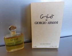 MINIATURE PARFUM ARMANI Eau De Parfum Gio - Modern Miniatures (from 1961)