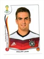 FIGURINE PANINI NUOVE - MINT STICKERS BRASIL WORLD CUP 2014 - GERMANY - PHILIPP LAHM - N.491 - Panini