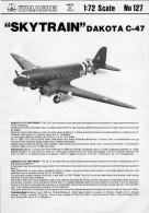 Notice Dakota C-47 1/72 Italierie - Autres Collections