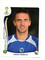 FIGURINE PANINI NUOVE - MINT STICKERS BRASIL WORLD CUP 2014 - BOSNIA HERZEGOVINA - VEDAD  IBISEVIC - N.448 - Edizione Italiana