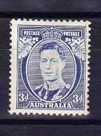 Australien  1937 SG 168 A * DIE I - 1937-52 George VI