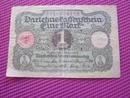 Note Bank  Banca Billet De Banque Bankrépublique Weimar Allemagne Deutschland 1 Mark - [ 3] 1918-1933 : Weimar Republic