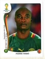 FIGURINE PANINI NUOVE - MINT STICKERS BRASIL WORLD CUP 2014 - CAMEROUN - PIERRE WEBO - N.106 - Panini